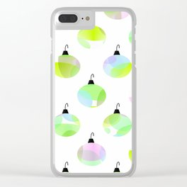 Dress Up The Tree Clear iPhone Case
