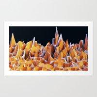 Overscan Range Art Print