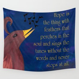 A Song of Hope Wall Tapestry