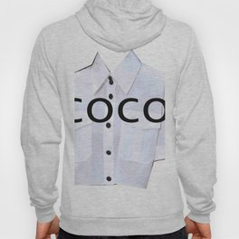 coco fashion week look Hoody
