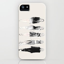 On Wednesdays We Wear Black iPhone Case