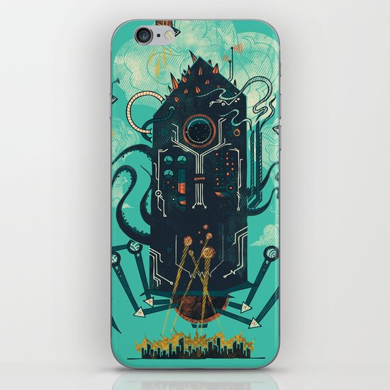 Not with a whimper but with a bang iPhone Skin