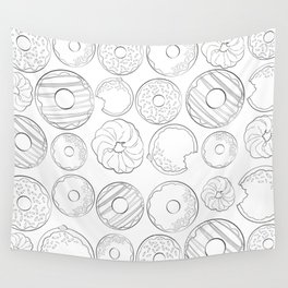 Donuts Are Life Wall Tapestry