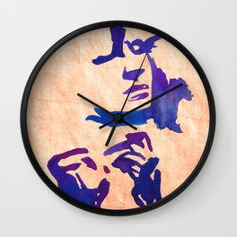 Caresses Wall Clock