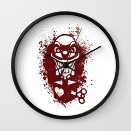 Clown Jack Wall Clock