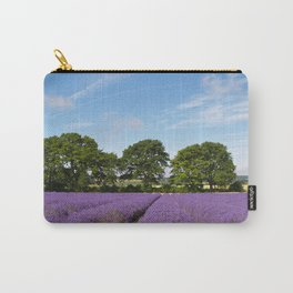 Lavender field near Selborne in Hampshire Carry-All Pouch