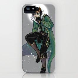 Moon King Loki iPhone Case