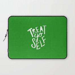 Treat Yo Self x Holiday Green Laptop Sleeve