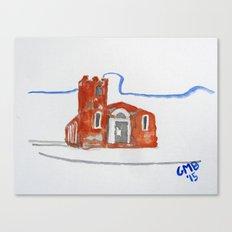 Igreja Nossa Senhora do Rosário de Fátima Canvas Print