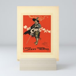 Plakat pl 48 the chieftain savoy theatre Mini Art Print