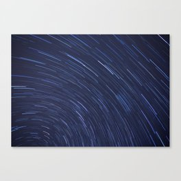 Star Trails Two Canvas Print