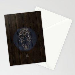 Deer Shield Stationery Cards