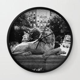 Elizabeth Street Garden II Wall Clock