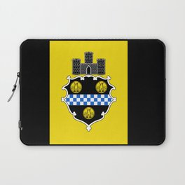 flag of pittsburg Laptop Sleeve