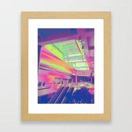 Spectrum Escalation Framed Art Print