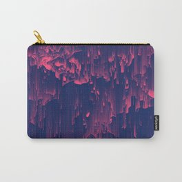 Glitchin' - Abstract Pixel Art Carry-All Pouch