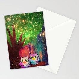 owl-143 Stationery Cards