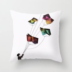 Fear and Loathing in the Meadows Throw Pillow
