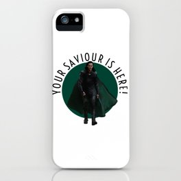 your saviour is here iPhone Case
