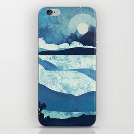 Blue Desert iPhone Skin