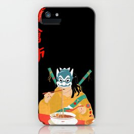 Festin demon iPhone Case