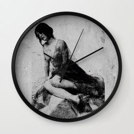 Wounded soul Wall Clock