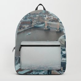 Snowy London Backpack