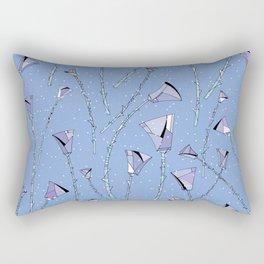 Roses frozen Rectangular Pillow