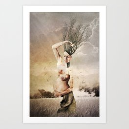 THE FOREST (II) Art Print