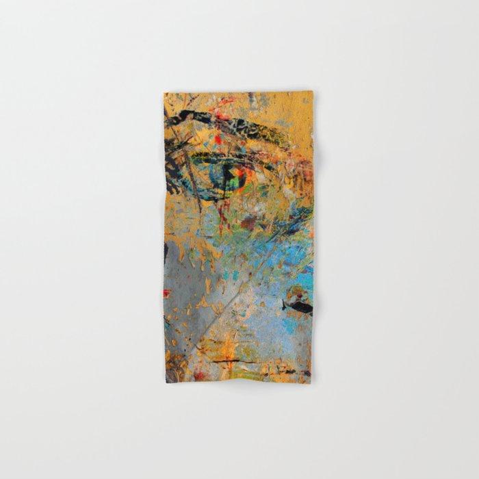 Yellow Wall Hand & Bath Towel