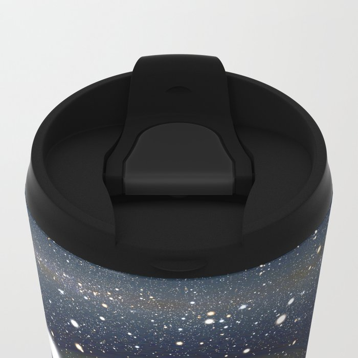 Black Hole in One Metal Travel Mug
