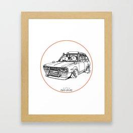 Crazy Car Art 0186 Framed Art Print