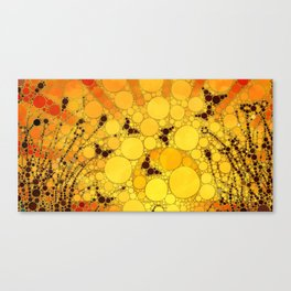 """Butterfly Sunset - from """"Further Back"""" series Canvas Print"""