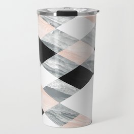 Pastel Scheme Geometry Travel Mug