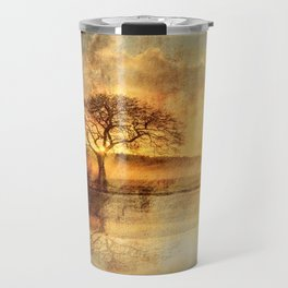 Sunset On The Savannah Travel Mug