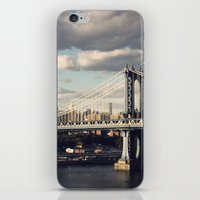 gotham iPhone & iPod Skins featuring Gotham by Michael Dulle