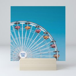 California Ferris Wheel Mini Art Print
