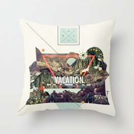 island Vacation Throw Pillow