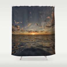 Fantasy Sunset 3 Shower Curtain