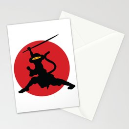 Ninja Monkey Stationery Cards