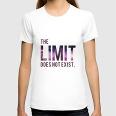 The Limit Does Not Exist - Mean Girls quote from Cady Heron Womens Fitted Tee White MEDIUM