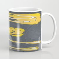transformers Mugs featuring Transformers by Maddy Knuth