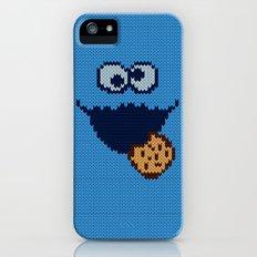 monster 'nom nom' knit iPhone (5, 5s) Slim Case