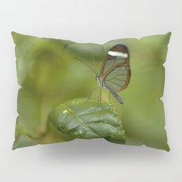 Transparent butterfly Pillow Sham