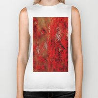 earth Biker Tanks featuring Earth by Saundra Myles