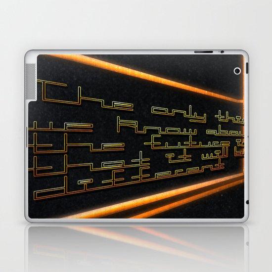Typography Laptop & iPad Skin