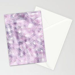 Abstract 376 Stationery Cards