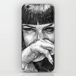 I said, god damn! iPhone Skin