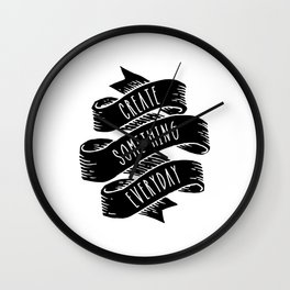 Create Everyday Wall Clock