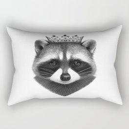 King raccoon Rectangular Pillow